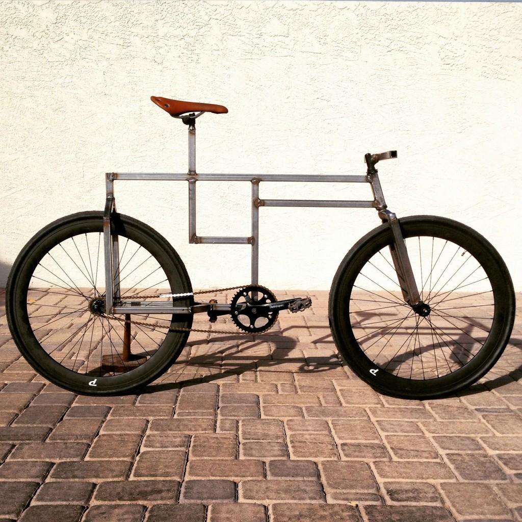 Bicicleta cuadrada