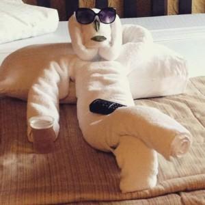 El mejor arreglo de toallas en un hotel